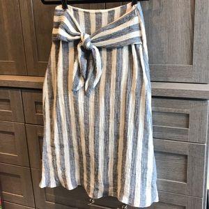 Point Sur x J Crew linen skirt